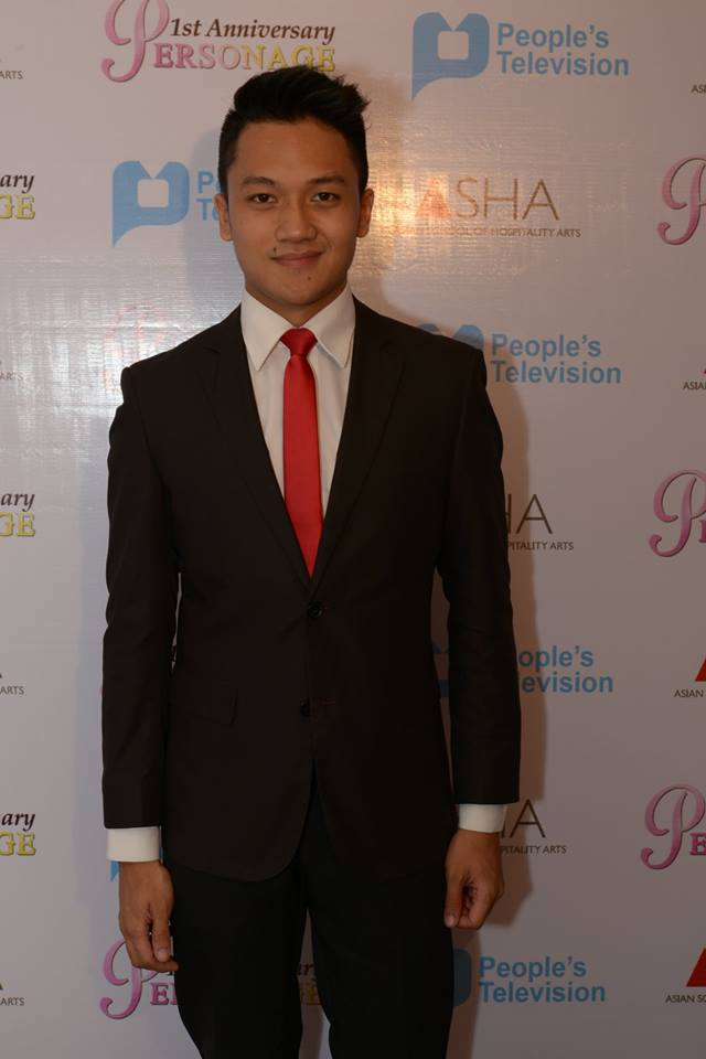 "jules guiang, host of ""iskoolmates"", a show from ptv-4"