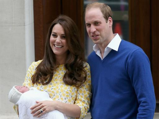 "kate and prince william, and the ""baby"""