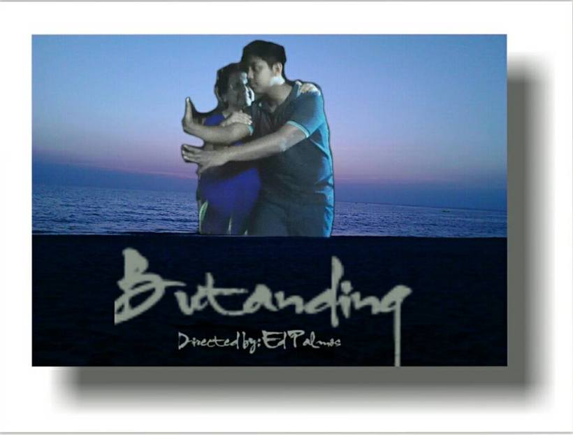 "tessie with actor norris john in the film ""butanding"""