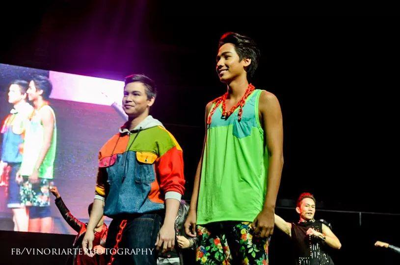 "DREW ON HIS FIRST MODELLING GUESTING APPEARANCE AT ""STAGERS: LIVE AT THE BIG DOME"" LAST YEAR"