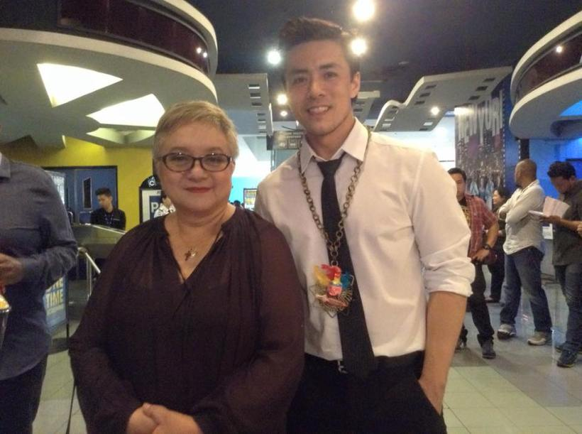 lance with direk laurice guillen (ina feleo's mom)