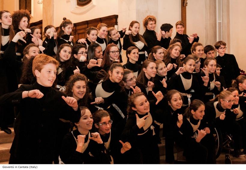 GIOVENTU' IN CANTATA_Choir