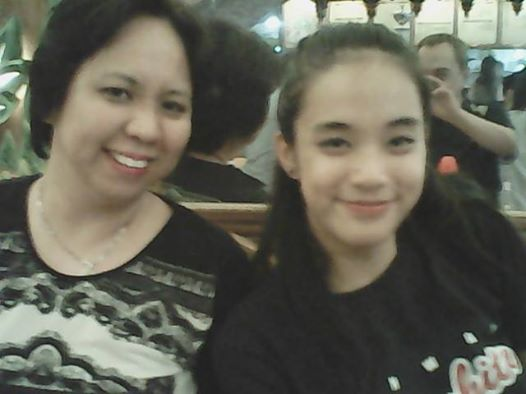 TESSIE'S DAUGHTER JING AND APO TISHA