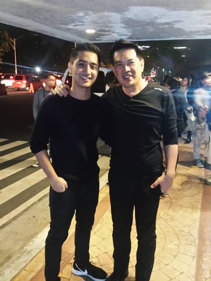 aaron rivera with direk dante mendoza