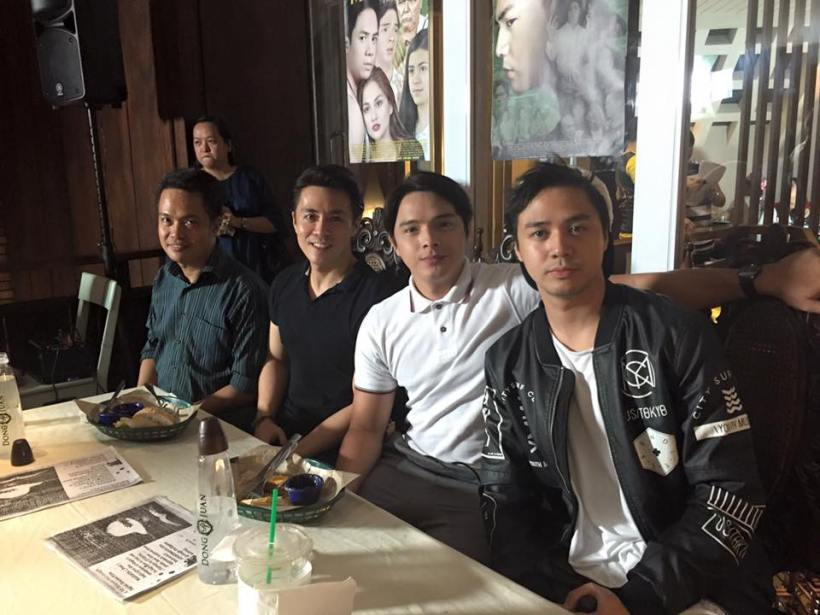 LANCE, ANGELO, SAM WITH MR. DAVE CECILIO