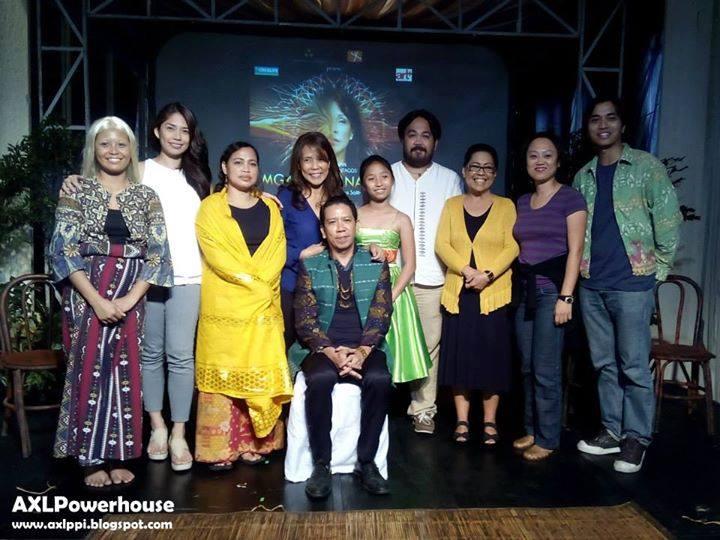 "the cast of ""mga buhay na apoy"""
