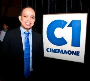 "MR. RONALD ARGUELLES OF ""CINEMA ONE"""
