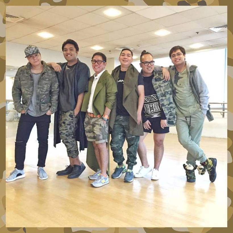 """THE CELEBRITY STYLISTS OF CHANNEL 7'S SUNDAY NOONTIME SHOW-""""SUNDAY PINASAYA"""", WITH JANUARIUS HIPOLITO AND COMPANY-"""