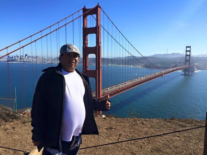 direk arnel at san francisco bridge