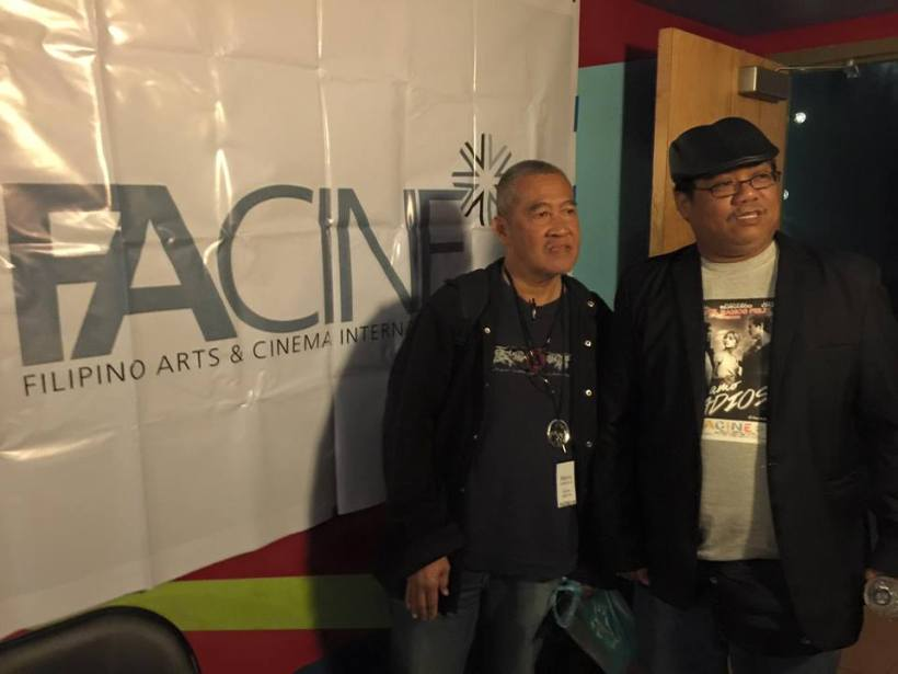 direk arnel with friend- mr. ramil noche at facine international film fest