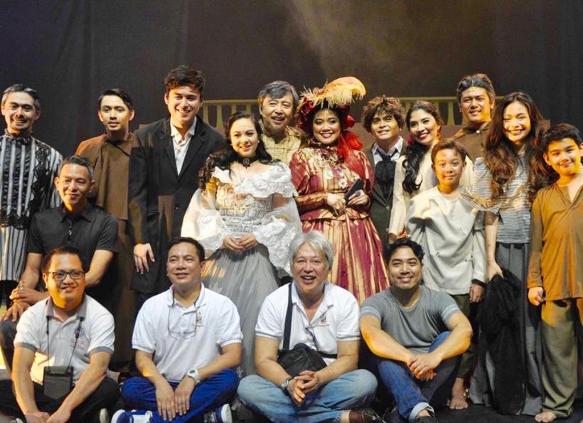 "direk fran and his cast for ""kanser @35, the musical"""