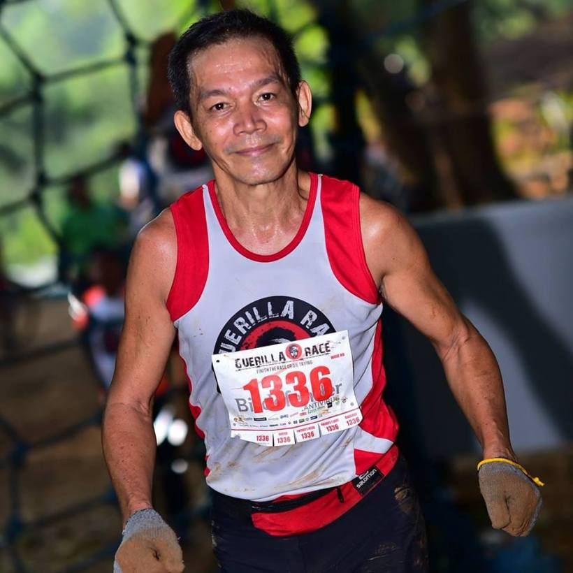 MR. ROBINSON ANDRES: LONG-DISTANCE RUNNER AT THE AGE OF 52.