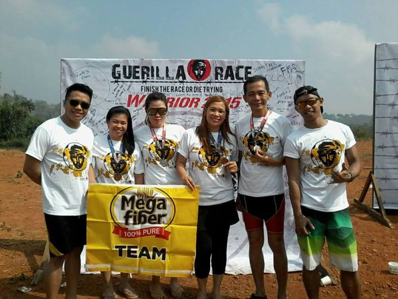 GUERILLA RACE WARRIOR 2015 (10KM) TIMBERLAND, SAN MATEO, RIZAL OCTOBER 25, 2015