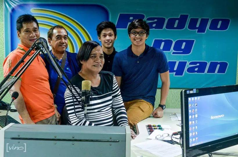 (left to right): mr. martin martin, blogger sssip, mommy renee garcia of dzrb, elite nikki co and elite aljon salonga