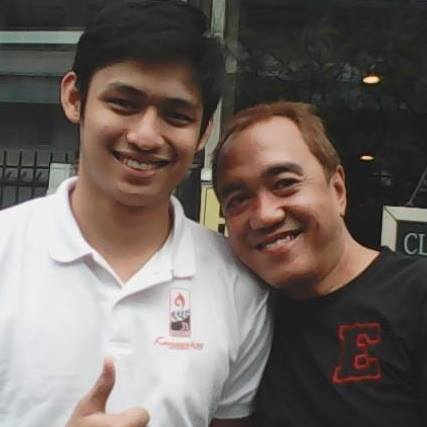 this blogger with michael pangilinan