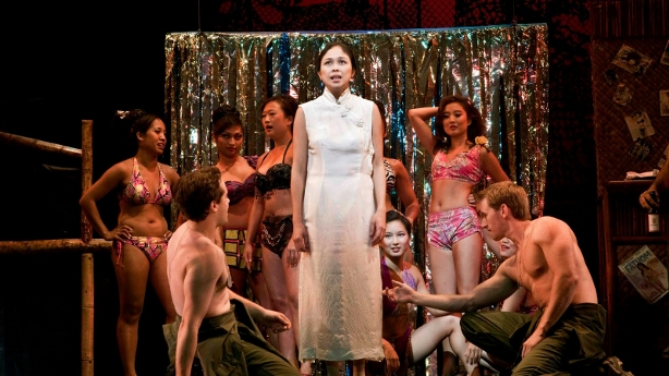 a scene from MISS SAIGON broadway