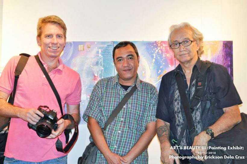 MR. DON GORDON BELL (far right), with blogger ROBERT SILVERIO (middle) AND A DISTINGUISHED FOREIGN PHOTOGRAPHER-FRIEND OF MR. BELL.