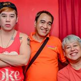 robert silverio (middle), with vince and frannie