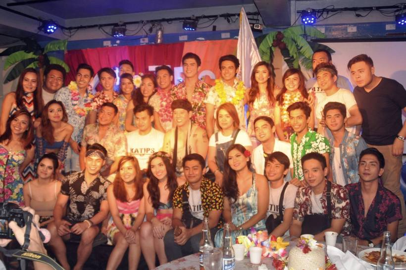 the handsomest group of theater people- THE PHILIPPINE STAGERS FOUNDATION