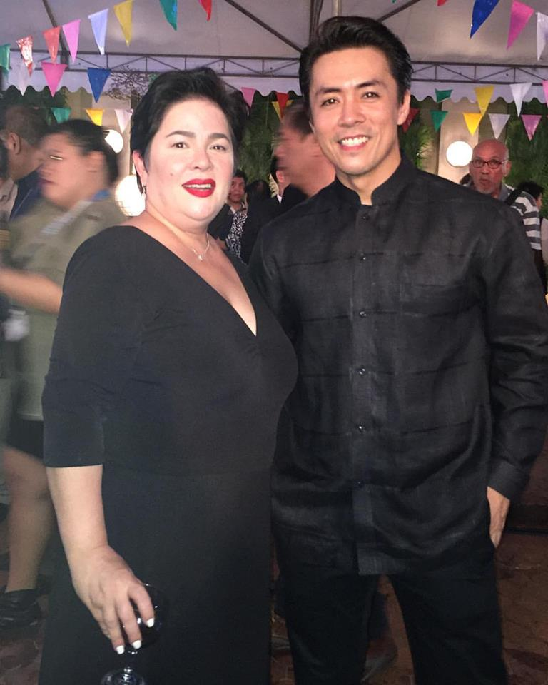 lance with ms. jaclyn jose