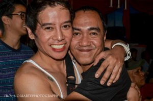 robert silverio with mr. vince tanada
