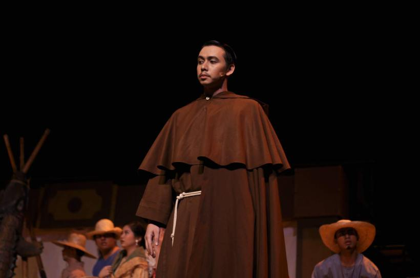 "CARLO AS PADRE SALVI IN LAST YEAR'S ""KANSER@35: THE MUSICAL"""