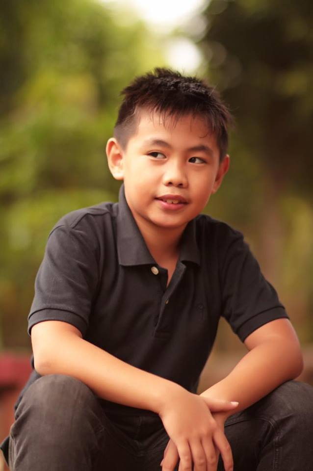 DWAYNE: THE YOUNGEST SILVERIO BOY.