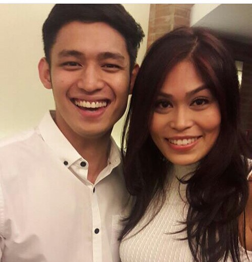 garie with bf michael pangilinan