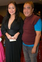 mercedes cabral with blogger sssip